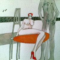 Magdalena Steiner Entwurf zu Hurentaxi