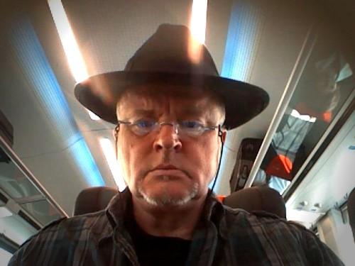 Der Autor mit seinem schwarzen Hut